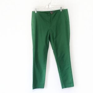 Vince Camuto pants green cropped Size 8